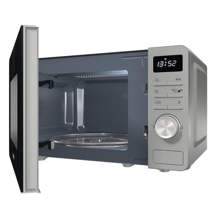 Cuptoare cu microunde Gorenje MO20A3X 1.280 W, Functie Smart Display, Metalic 1