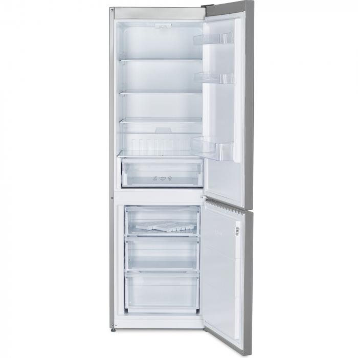 Combina frigorifica Heinner HC-V336XA++, 336 l, Clasa A++, H 186 cm, Tehnologie Less Frost, Control mecanic cu termostat ajustabil, Argintiu 2
