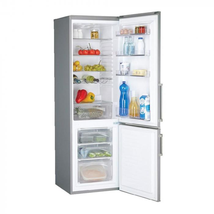 Combina frigorifica Candy CSSM 6182XH, 287 L, Clasa A+, H 185, Inox 1