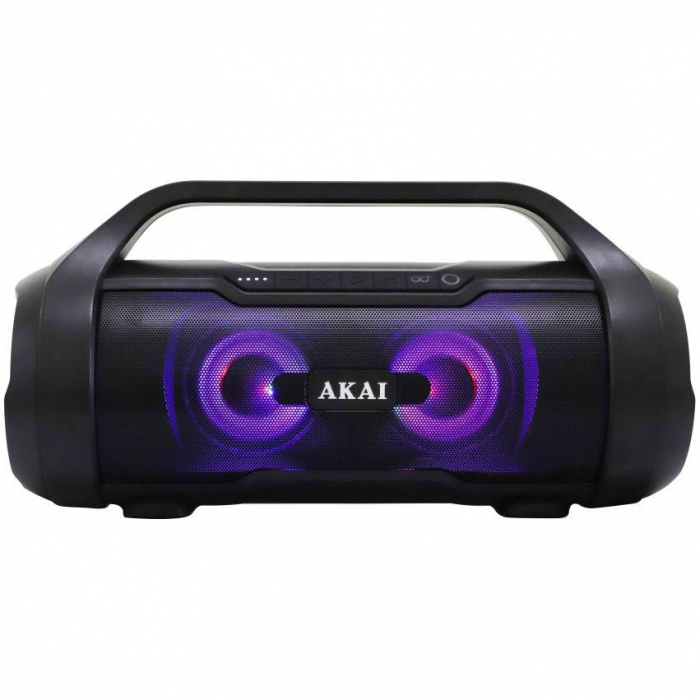Boxa Portabila, Bluetooth, rezistenta la apa AKAI ABTS-50 , Radio FM , USB ,SD card 5