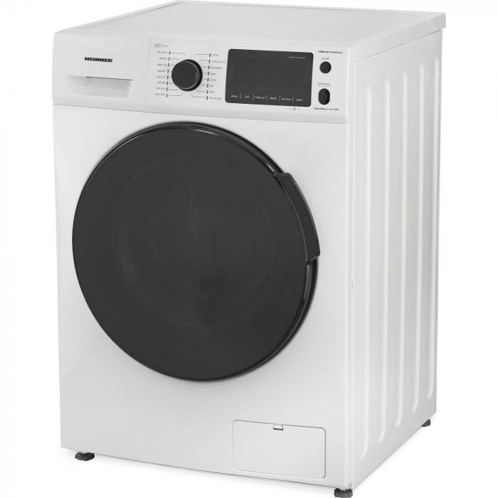 Masina de spalat rufe Heinner HWM-M1016INVA3+,10 kg, 1600 RPM, Clasa A+++, Motor Inverter, Display LED, Alb 3