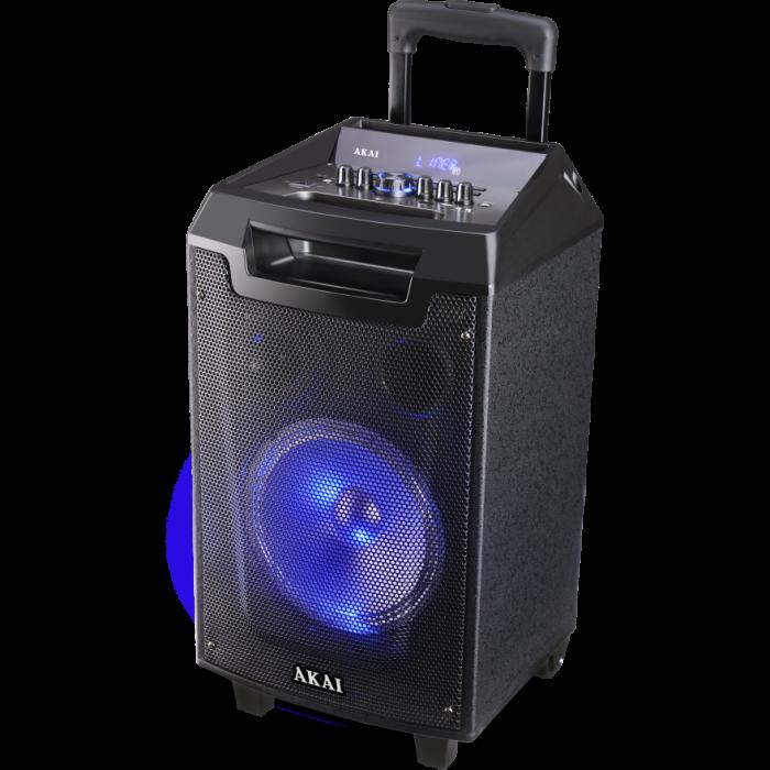 Boxa portabila Akai ABTS-AW12 cu BT, lumini disco, functie inregistrare, microfon 1