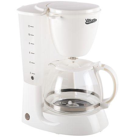 Cafetiera Vanora VCM-800WH, 750W, 1.25 L,, filtru detasabil, functie anti-picurare, mentinere cald, Alb 0