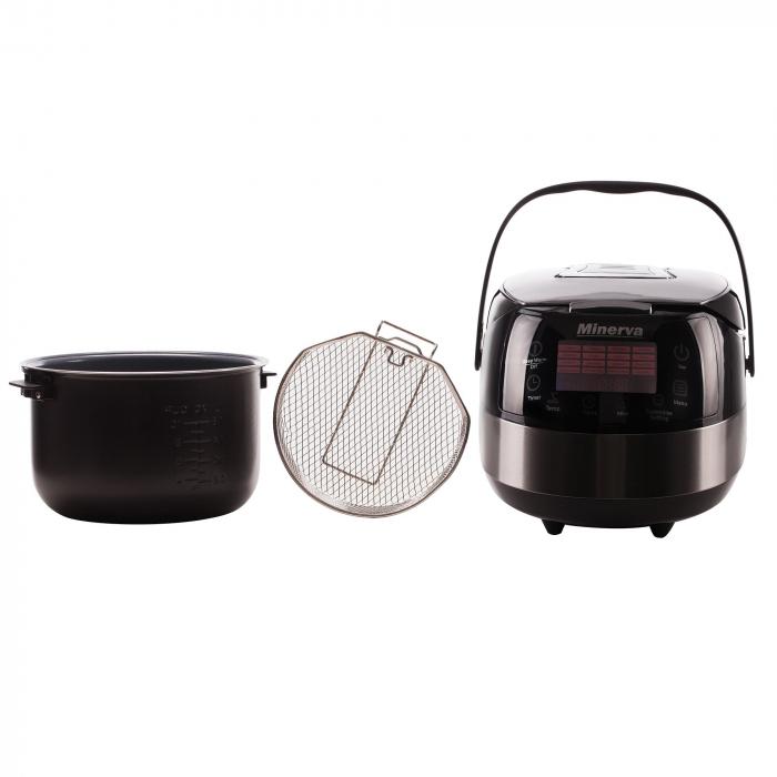 Multicooker Minerva Experience M49, 860 W, 5 L, 49 programe, Negru 4