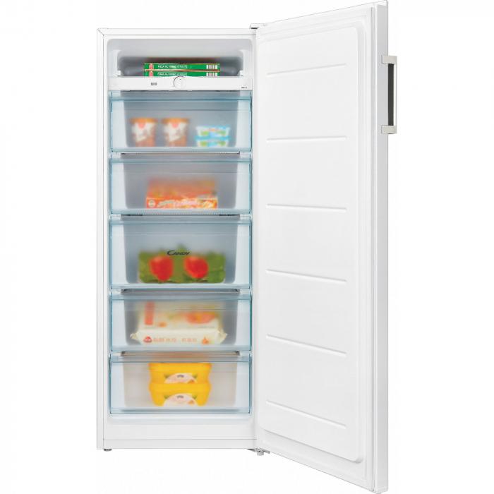 Congelator Candy CMIOUS 5142WH, 166 l, 5 sertare, Clasa F+, H 143 cm, Alb [1]