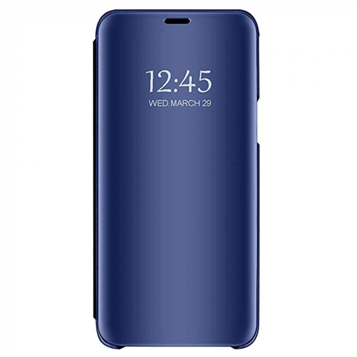 Husa Clear View Mirror Huawei Y6 2019 Blue 0