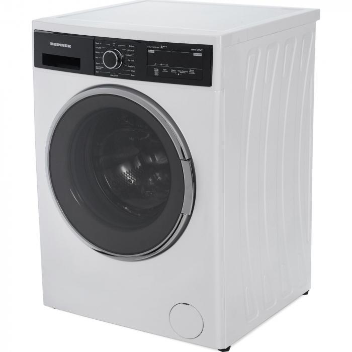 Masina de spalat rufe Heinner HWM-V914T, 9 Kg, 1400 RPM, Clasa A+++, Display Digital, Touch control, Sistem Eco Logic, Alb 2
