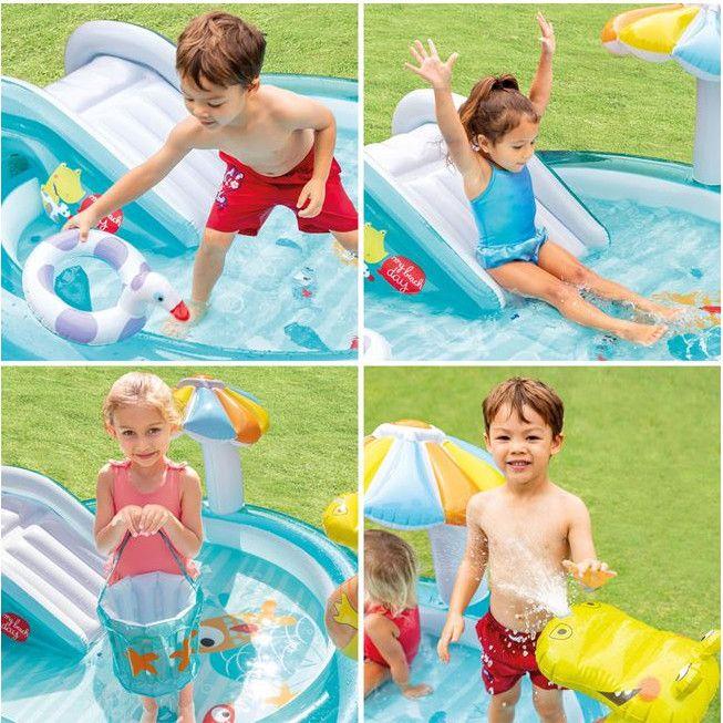 Centru de joaca gonflabil pentru copii, 2.01x1.70x0.84 m [1]