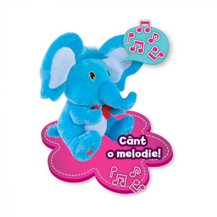 Jucarie de plus Noriel Elefant Cucu Bau - Tino Boo Elefantel 4