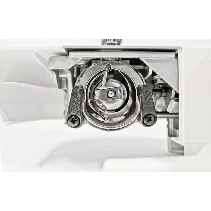 Masina de cusut Minerva Max10M, 10 programe, 800 imp/min, Alb/Rosu 3