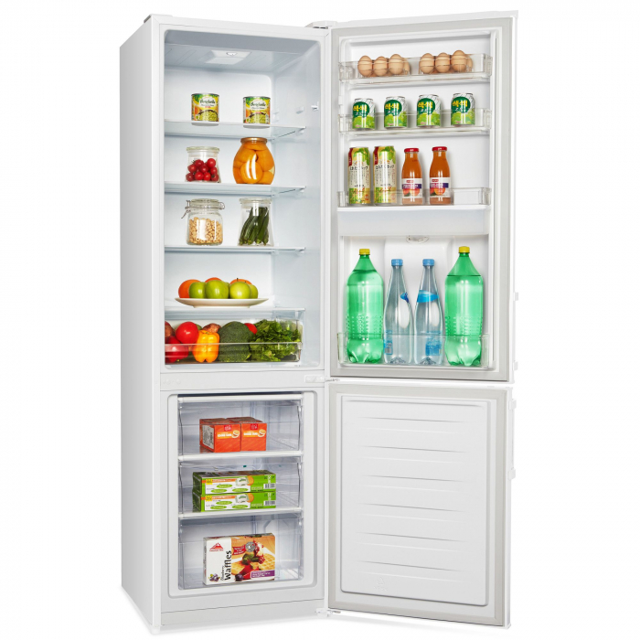 Combina frigorifica Heinner HC-N262WD+, 262 l, Dozator de apa, Clasa A+, H 180 cm, Alb 6