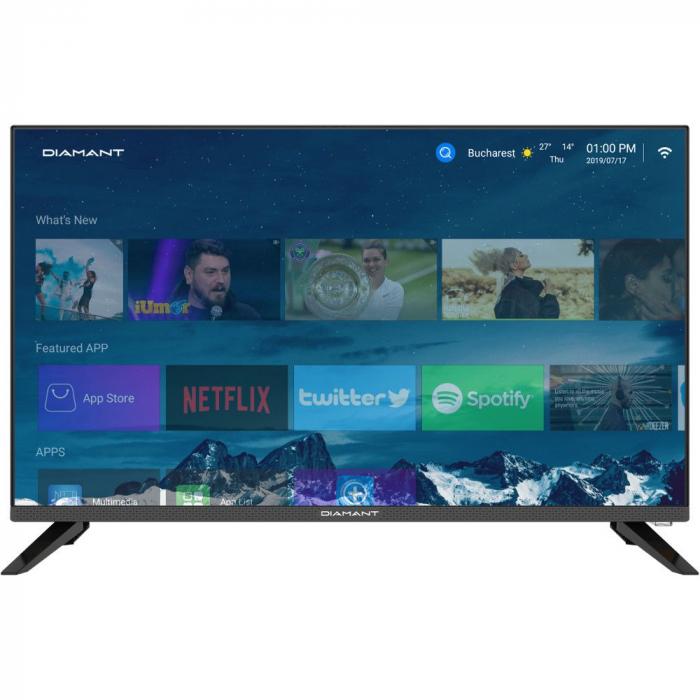 Televizor Smart LED, Diamant 32HL4330H/A, 80 cm, HD 0