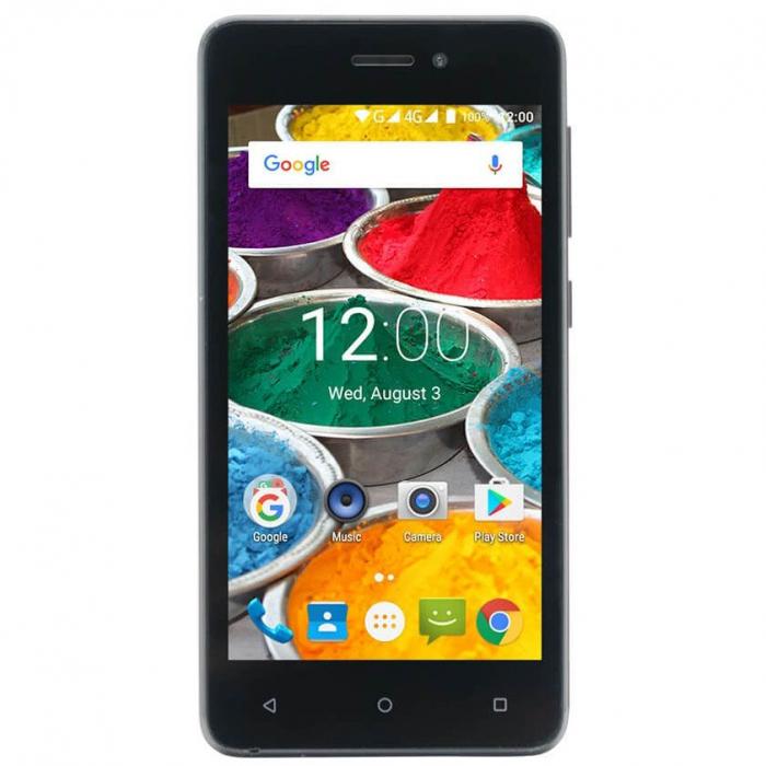 Telefon mobil E-Boda Eclipse G450, Dual SIM, 8GB, 4G, Black 0