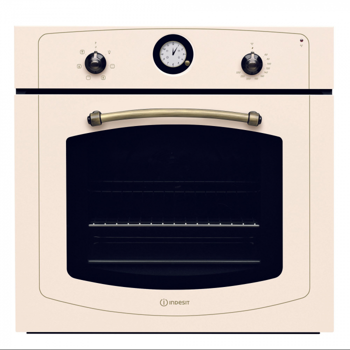 Cuptor incorporabil Indesit IFVR500OW, Electric, 60 l, Multifunctional, Grill, Clasa A, Bej 0