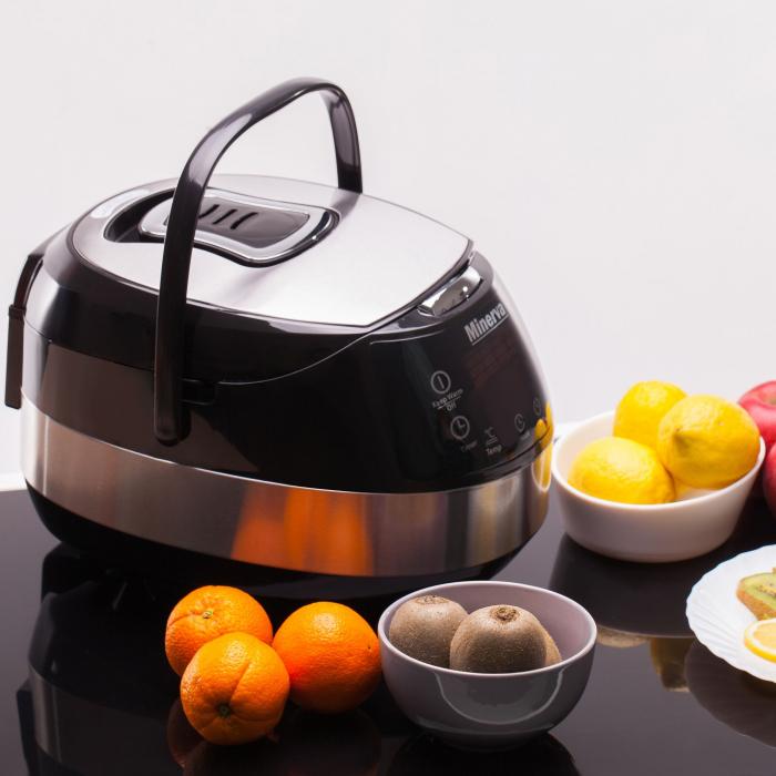 Multicooker Minerva Experience M49, 860 W, 5 L, 49 programe, Negru 6
