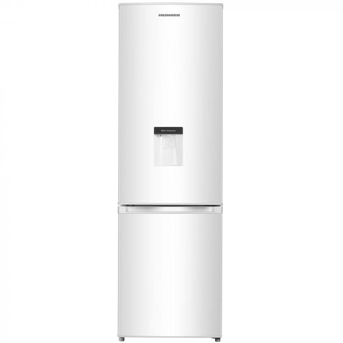 Combina frigorifica Heinner HC-N262WD+, 262 l, Dozator de apa, Clasa A+, H 180 cm, Alb 0