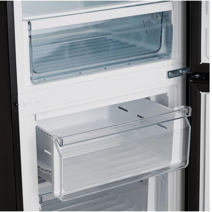 Combina frigorifica HEINNER HC-M305DGA++, 305L , LED, Clasa A++, 188cm , Antracit 4