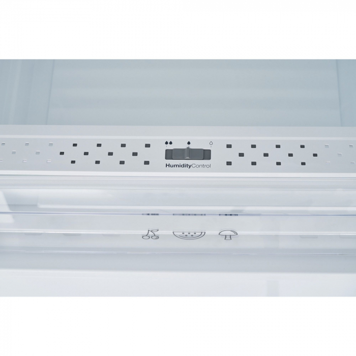 Combina frigorifica Heinner HC-V336XA++, 336 l, Clasa A++, H 186 cm, Tehnologie Less Frost, Control mecanic cu termostat ajustabil, Argintiu 5