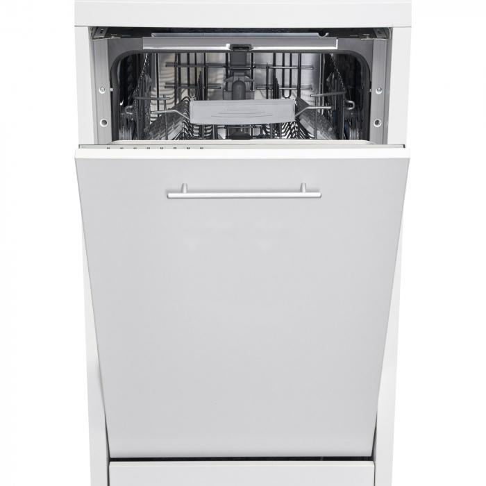 Masina de spalat vase incorporabila Heinner HDW-BI4582TA++, 10 seturi, 8 programe, Clasa A++, Touch Control, Display LED, 45 cm 0