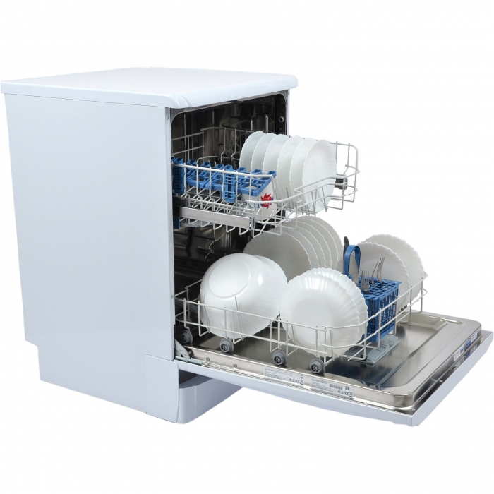 Masina de spalat vase Indesit DFG15B10, 13 seturi, 5 programe, Clasa A+, 60 cm, Alb 2