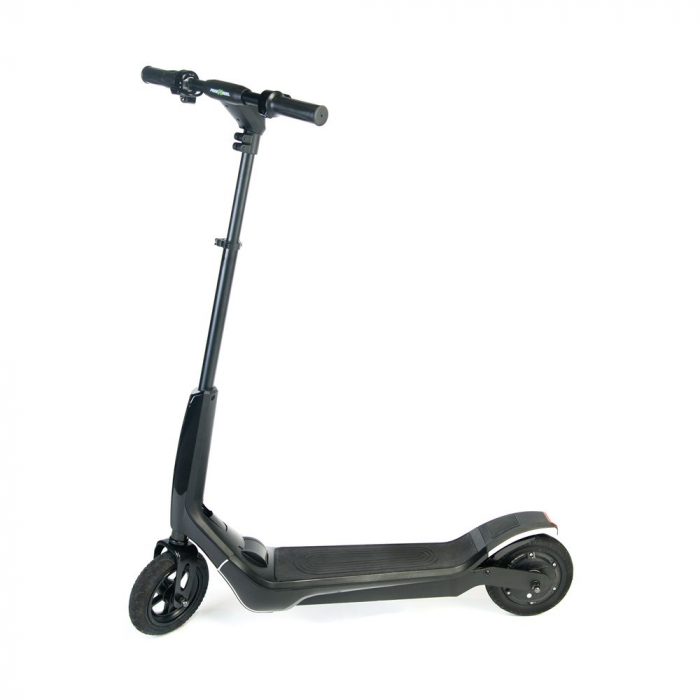 Trotineta electrica Freewheel Rider T1, Viteza 20 km/h, Autonomie 25 km, Motor 300W, Aplicatie smartphone, Roti gonflabile 8 inch, Negru 4