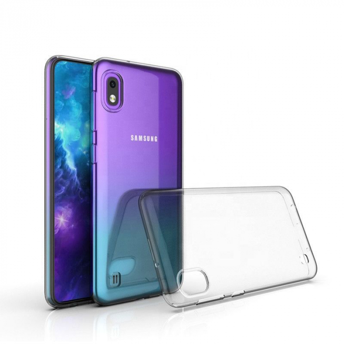 Husa Samsung Galaxy A10, A105 - Silicon, Transparent 0