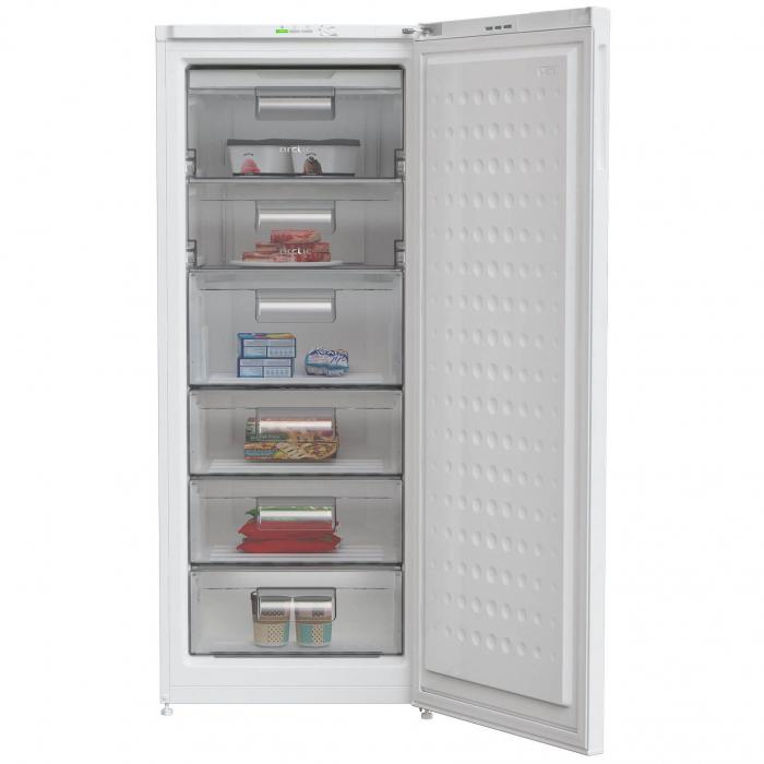 Congelator Arctic AC60250+, 215 l, Clasa A+, 6 sertare, H 151 cm, Alb 1