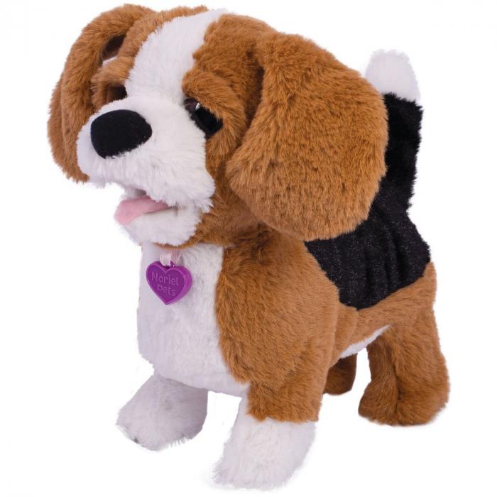 Jucarie interactiva de plus Noriel Pets - Zigo catelusul Beagle 1