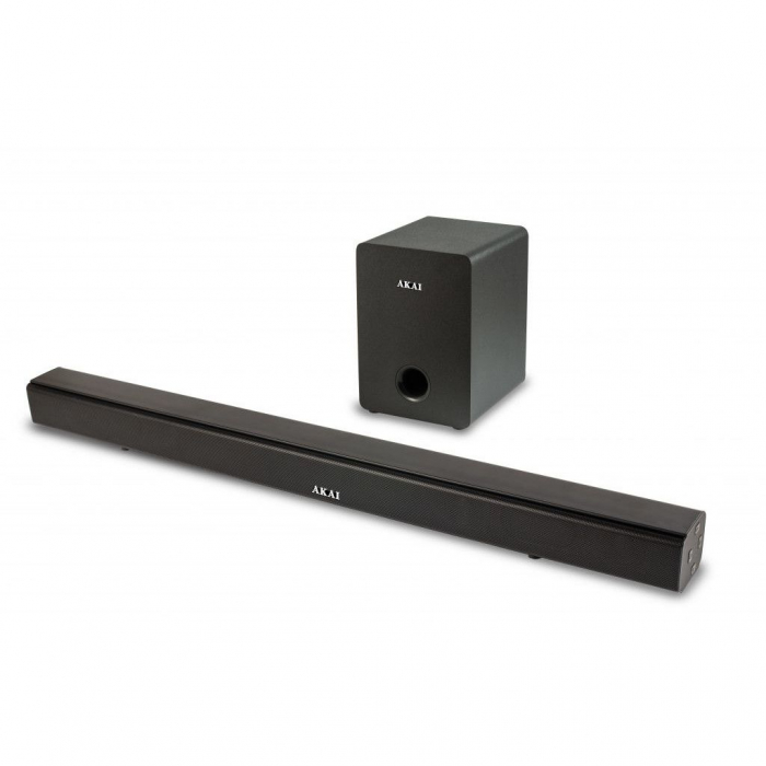Soundbar AKAI ASB-6WSW, Bluetooth, 10 dB, Negru 0