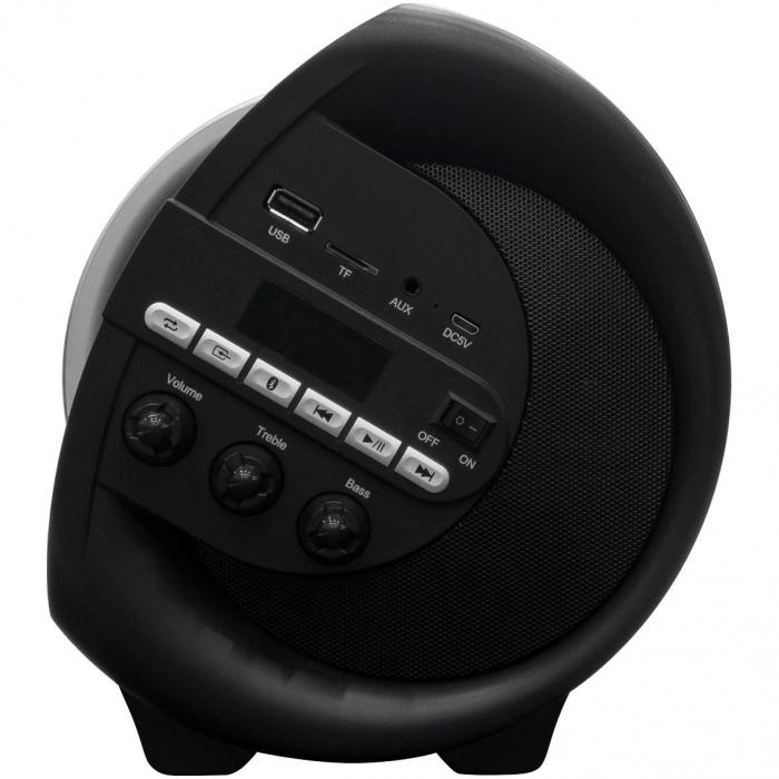 Boxa Portabila AKAI ABTS-V1, Bluetooth, LED Display, USB, TF Card [1]