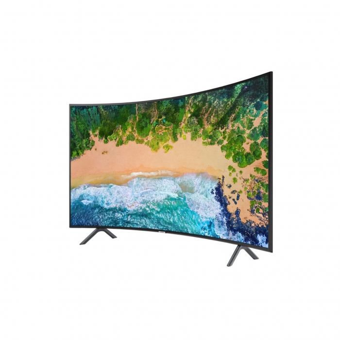 Televizor LED Curbat Smart Samsung, 138 cm, 55NU7372 , 4K Ultra HD 1