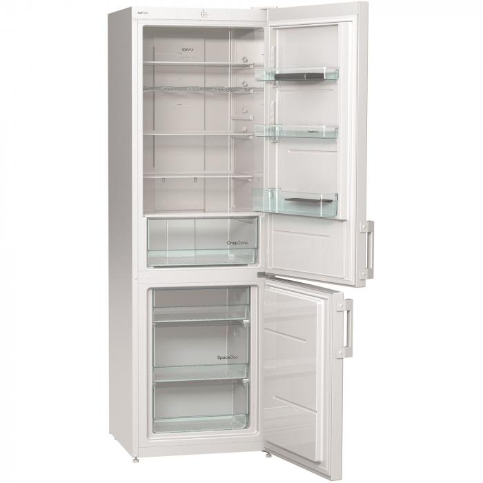 Combina frigorifica Gorenje NRK6191CW, 307 l, Clasa A+, No Frost Plus, 185 cm, Alb 1