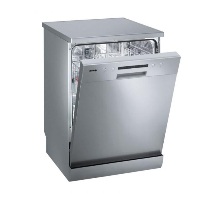 Masina de spalat vase Gorenje GS62115X, 12 Seturi, 6 Programe, Clasa A++, 60 cm, Argintiu [0]