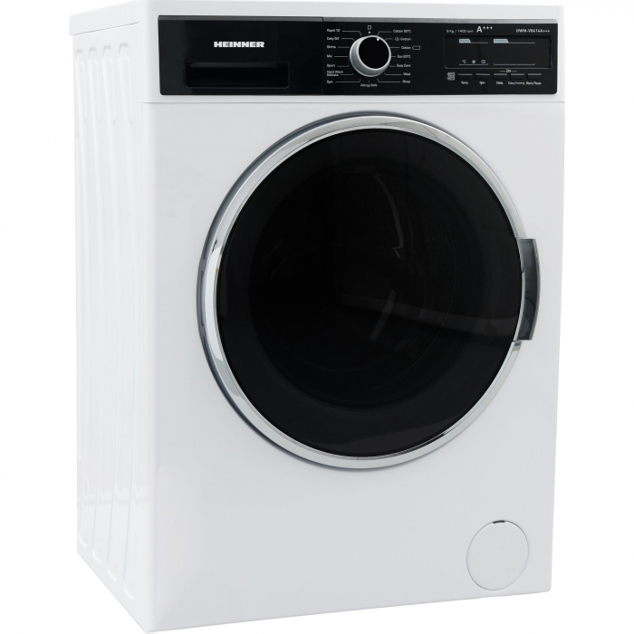 Masina de spalat Heinner HWM-V8414A+++, 8KG, 1400 RPM, Display, Allergy Safe, Clasa A+++, Alb 1