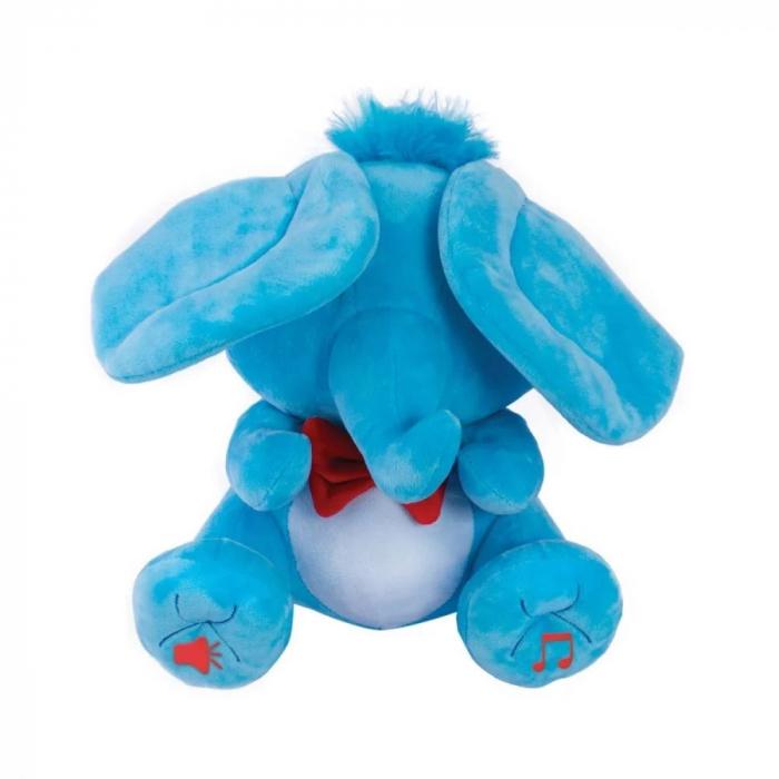 Jucarie de plus Noriel Elefant Cucu Bau - Tino Boo Elefantel 7