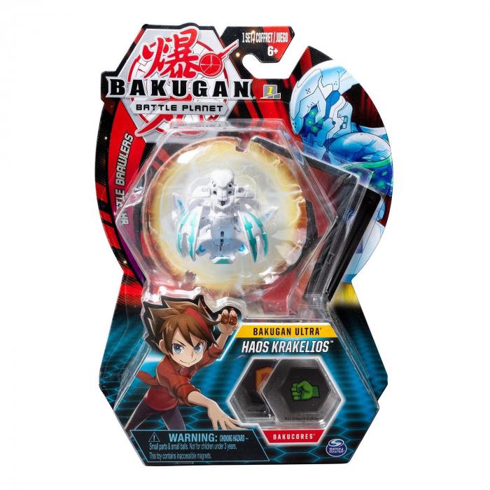 Figurina Bakugan Ultra - Haos Krakelios White 0