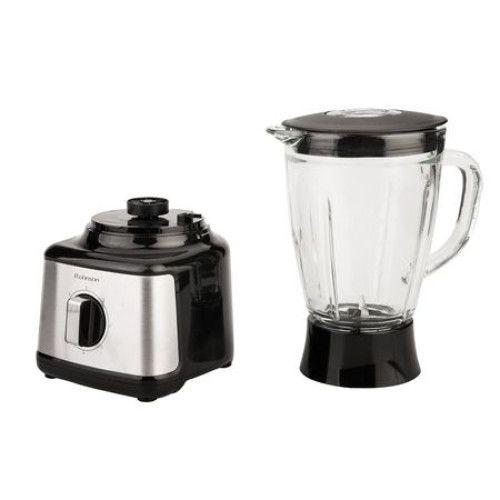 Blender Rohnson R5300, cana sticla 1.5 L, functie Pulse, lame din otel inoxidabil 2