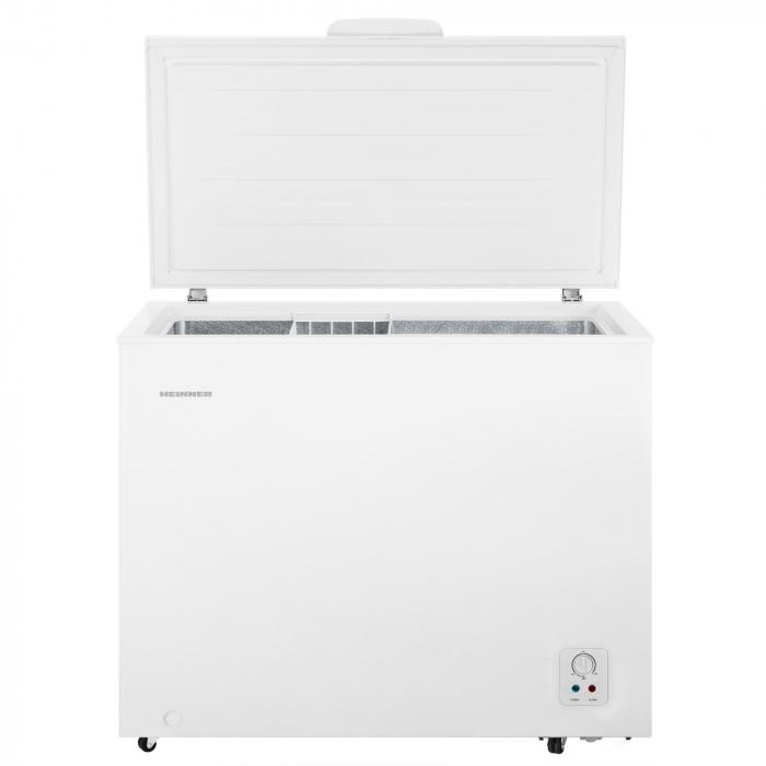 Lada frigorifica Heinner HCF-N250A+, 245 l, Clasa A+, Control mecanic, H 84.2 cm, Alb 0
