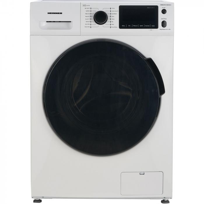 Masina de spalat rufe Heinner HWM-M1016INVA3+,10 kg, 1600 RPM, Clasa A+++, Motor Inverter, Display LED, Alb 0