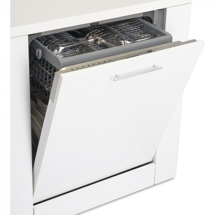 Masina de spalat vase incorporabila Heinner HDW-BI6083TA++, 15 seturi, 8 programe, Clasa A++, Touch Control, Display LED, 60 cm 1