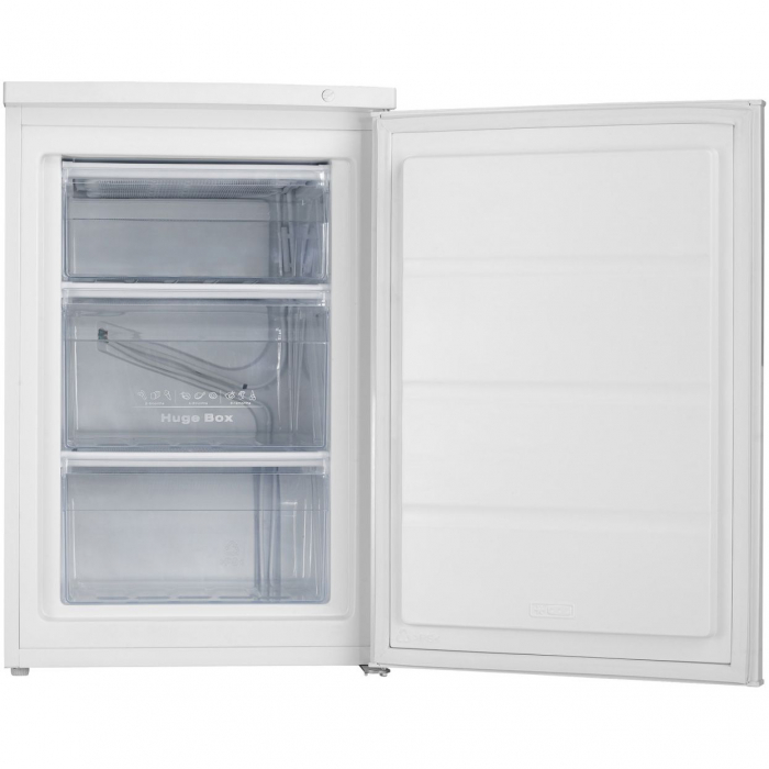 Congelator Heinner HFF-N80A+, 82 l,3 sertare, Clasa A+, Control mecanic, H 84.5 cm, Alb 1