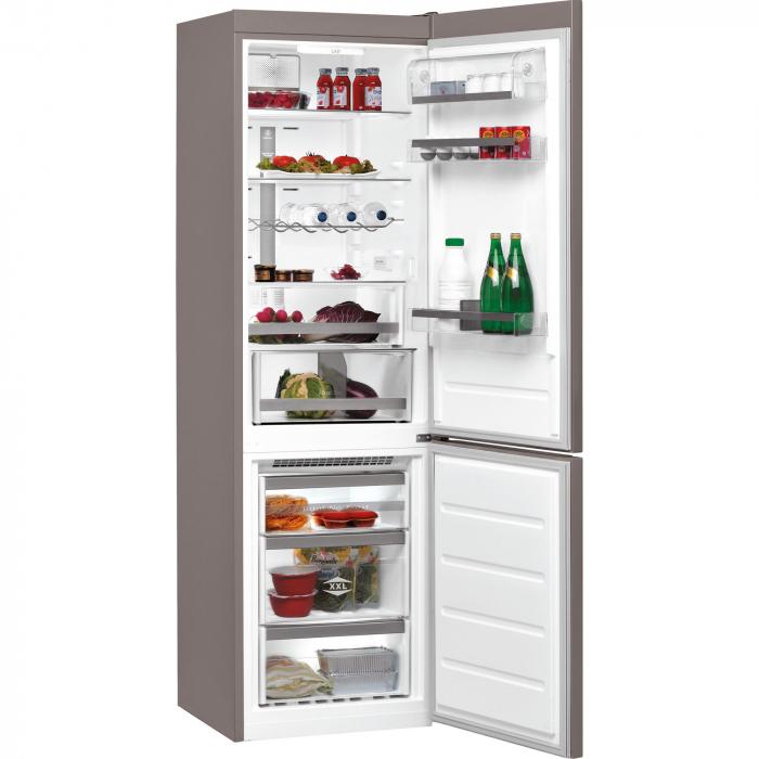 Combina frigorifica Whirlpool BSNF 9782 OX, 339 l, Clasa A++, Full No Frost, 6th Sense, H 201 cm, Inox 1