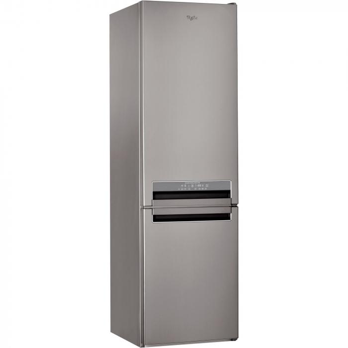 Combina frigorifica Whirlpool BSNF 9782 OX, 339 l, Clasa A++, Full No Frost, 6th Sense, H 201 cm, Inox 0