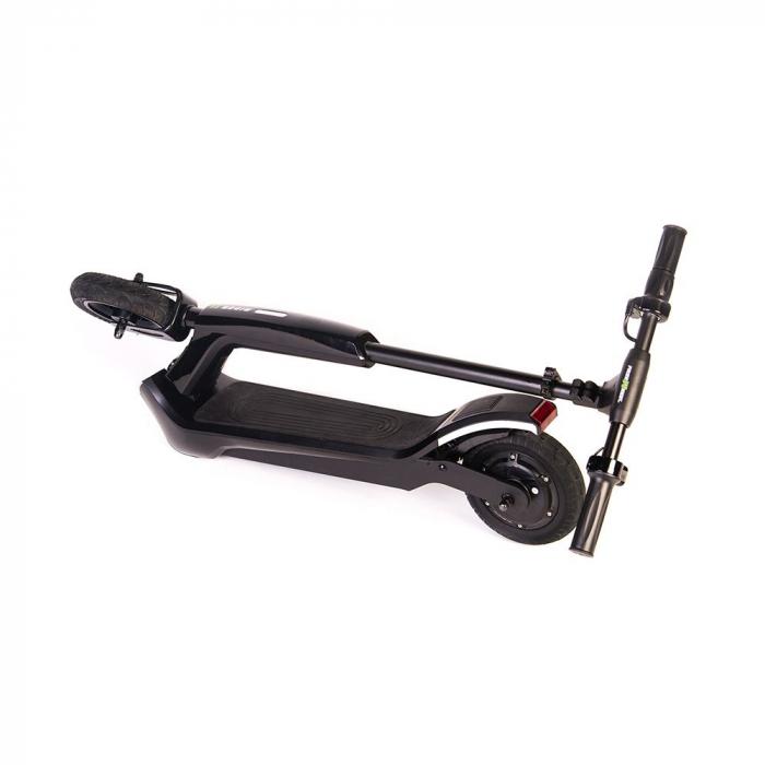 Trotineta electrica Freewheel Rider T1, Viteza 20 km/h, Autonomie 25 km, Motor 300W, Aplicatie smartphone, Roti gonflabile 8 inch, Negru 3