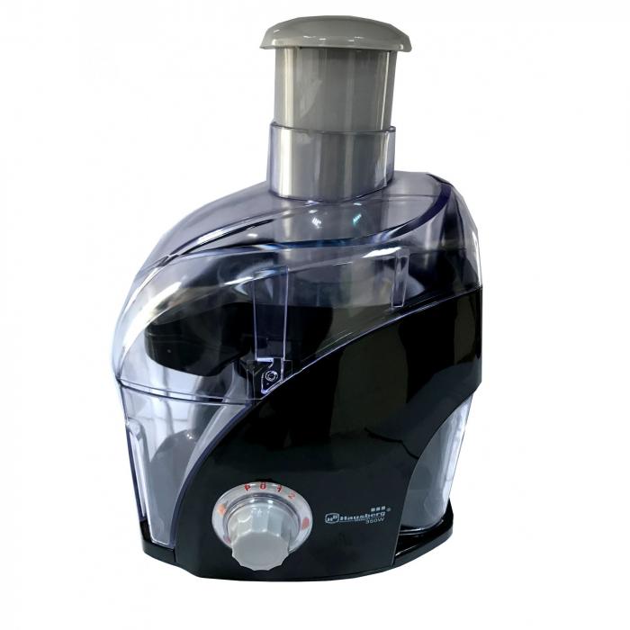 Storcator de Fructe Hausberg HB-3501, 350W, Lame Otel Inoxidabil, Negru 0