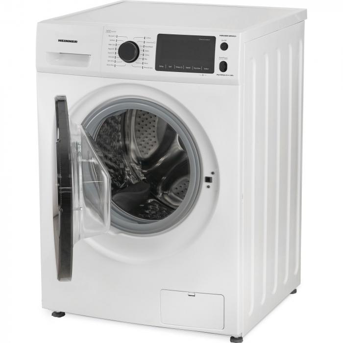 Masina de spalat rufe Heinner HWM-M0914INVA3+,9 kg, 1400 RPM, Clasa A+++, Motor Inverter, Display LED, Alb 4