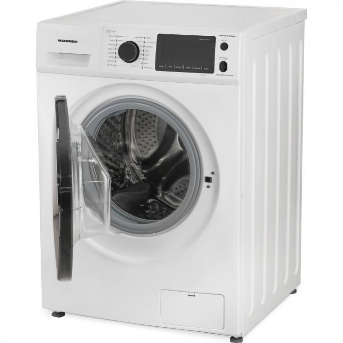 Masina de spalat rufe Heinner HWM-M1016INVA3+,10 kg, 1600 RPM, Clasa A+++, Motor Inverter, Display LED, Alb 4