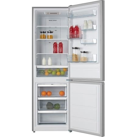 Combina frigorifica Heinner HCNF-M295WA+, 295 l, Clasa A+, Full No Frost, Display interior, Control electronic, H 188 cm, Alb 1