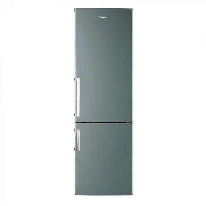 Combina frigorifica Candy CSSM 6182XH, 287 L, Clasa A+, H 185, Inox 0