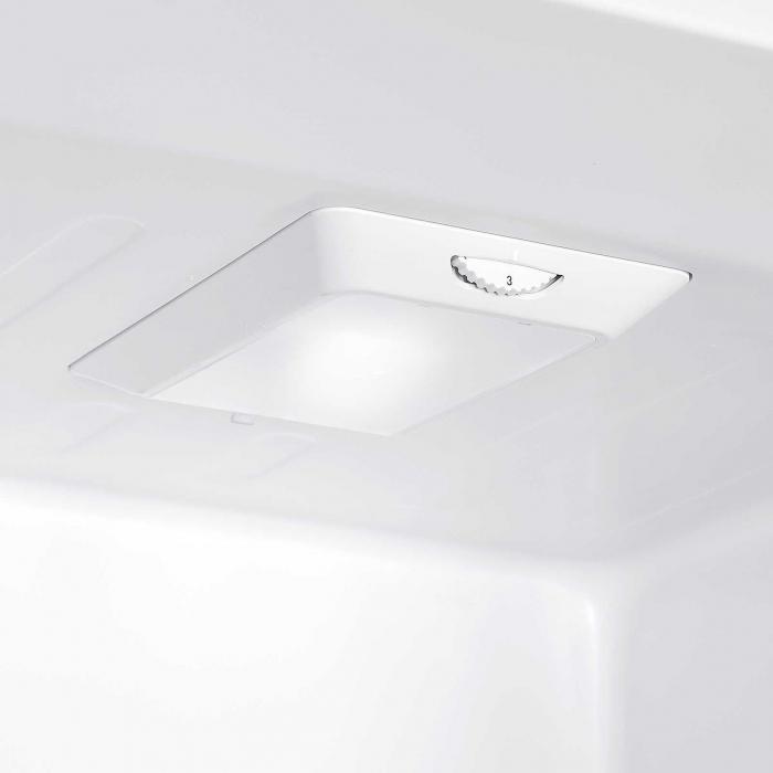 Combina frigorifica Heinner HC-N262WD+, 262 l, Dozator de apa, Clasa A+, H 180 cm, Alb 4